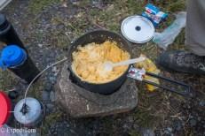 How to not cook Polenta Huemul Trek 2018