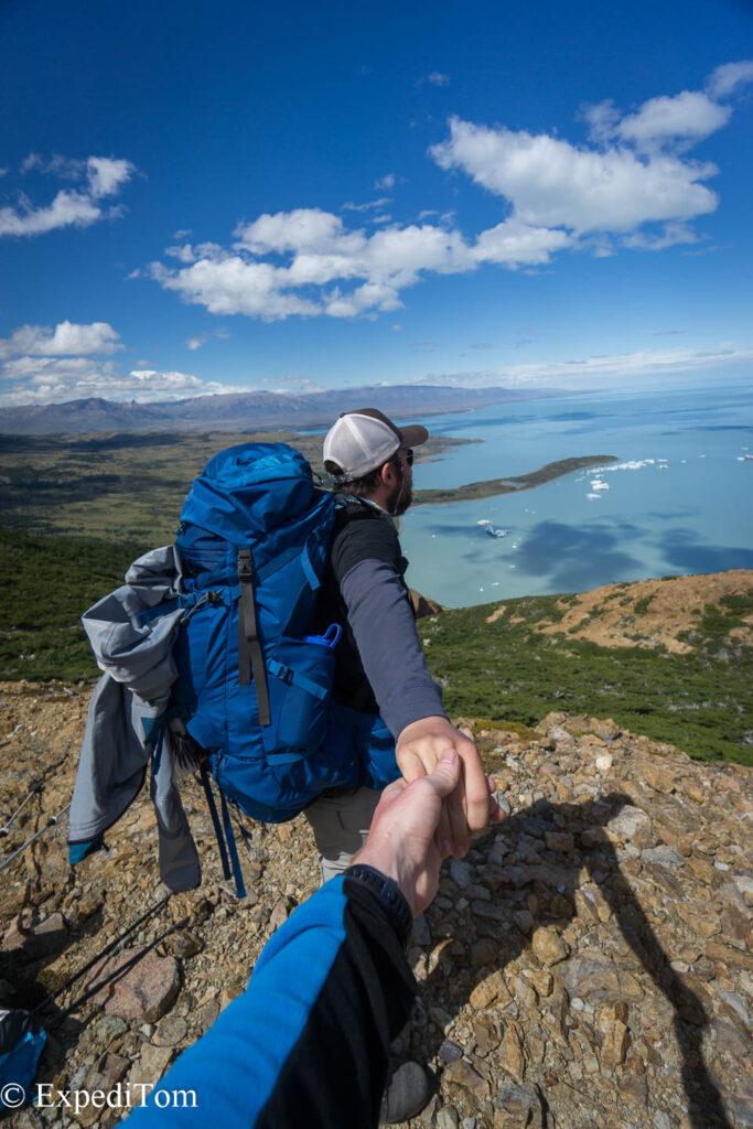 Instafame on the Huemul trek