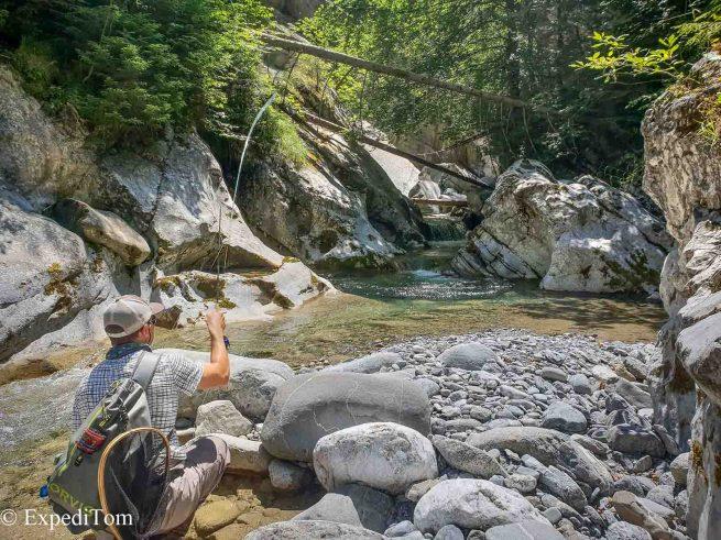 Birthday Fly Fishing Swiss Alps Bernese Mountain Creeks (32)