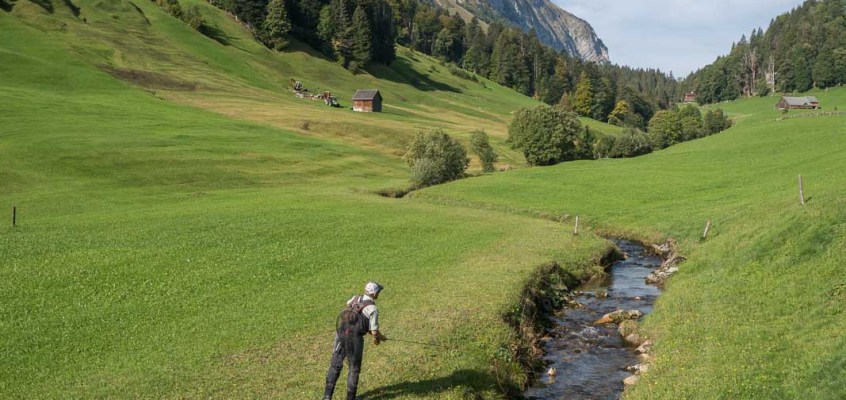 Fly Fishing Swiss Alps Canton Glarus