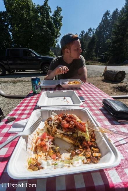 Indian Taco yummy