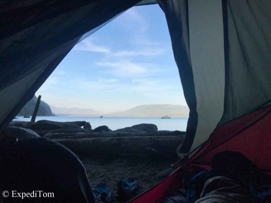 Morning views at Trasher's Cove on the WCT