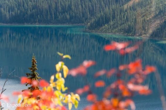 Autumn colours and Marvel Lake