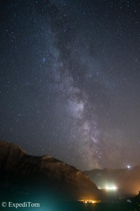 Nightsky over Banff, AB