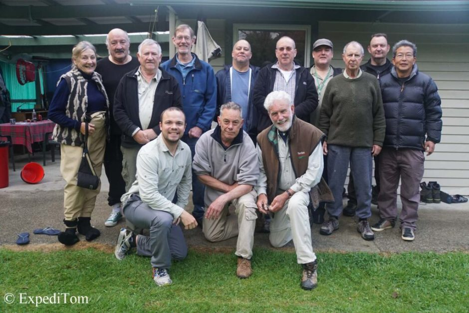 AFAC group picture 2015 during the monthly fishing trip