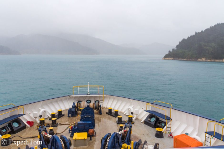 New Zealand Diary: Ferry from Wellington to Picton (Queen Charlotte Sound)