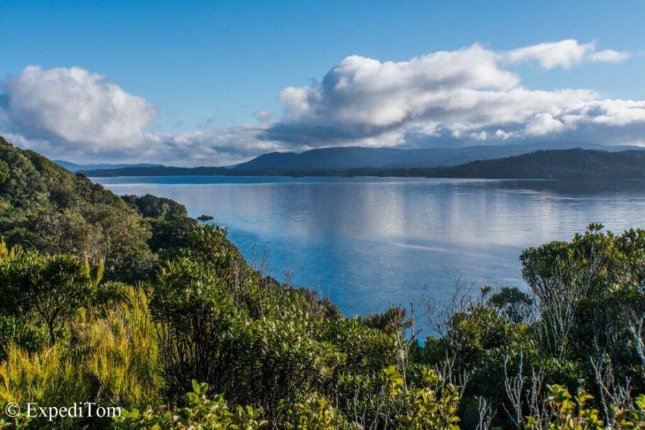 Ulva Island outlook towards Stewart Island
