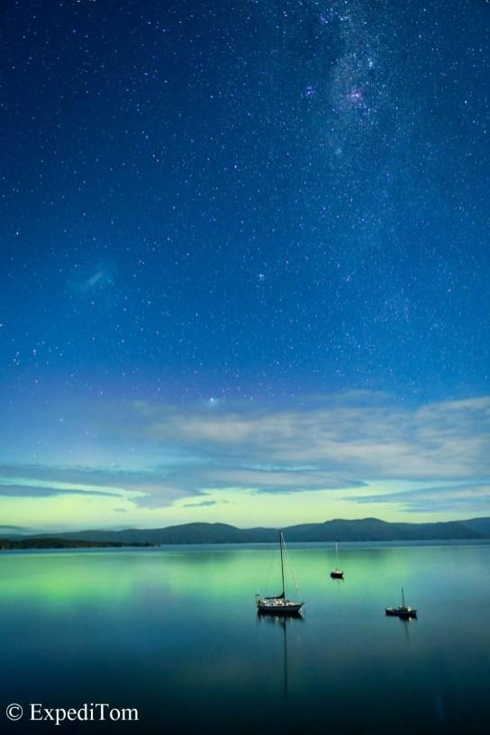 Aurora Boralis Stewart Island