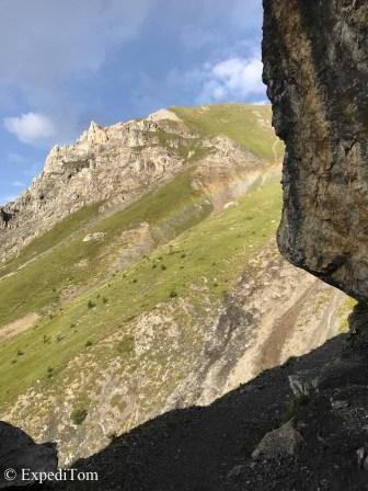 Ledge of the mountain