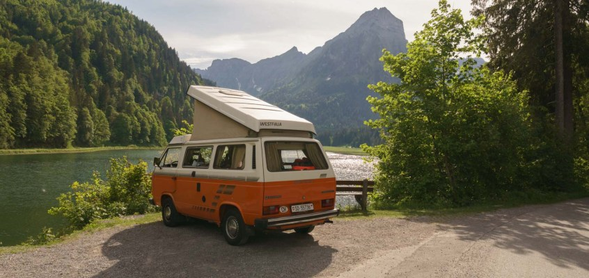 VW Bus Trip in Switzerland