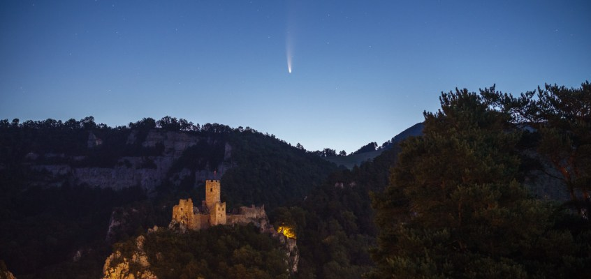 Goat Morning! Comet Neowise Revisited