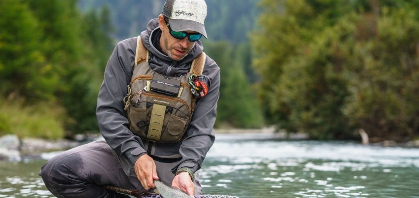 How to Fly Fish Glacial Runoff?