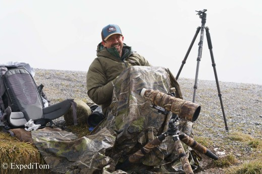 Stalking wildlife with Ian