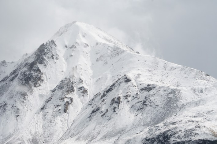 Magnificent peaks with unpredictable weather
