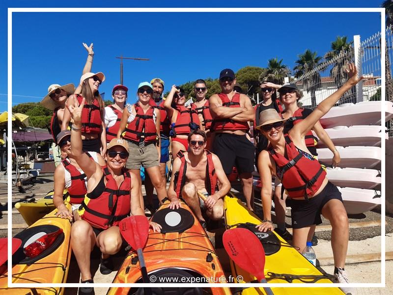 Incentive Calanques Seminaire Canoe Kayak Cassis Marseille Ciotat