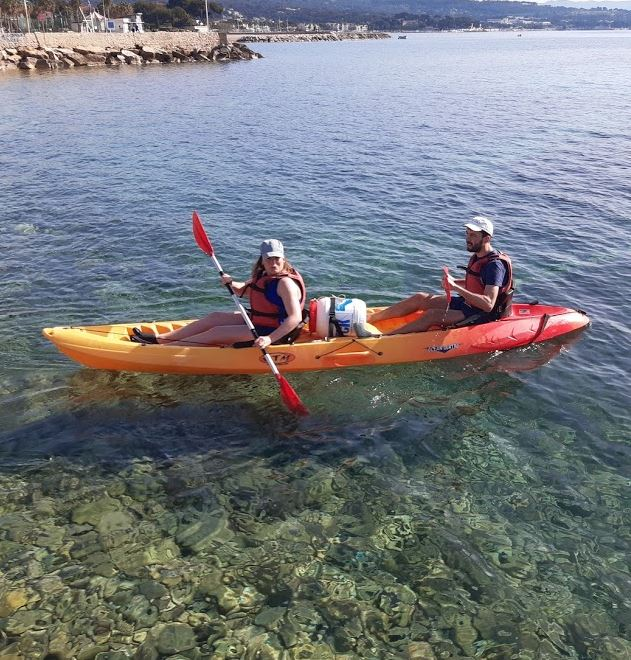 Paddle Kayak Ciotaden Marseillais Calanquais