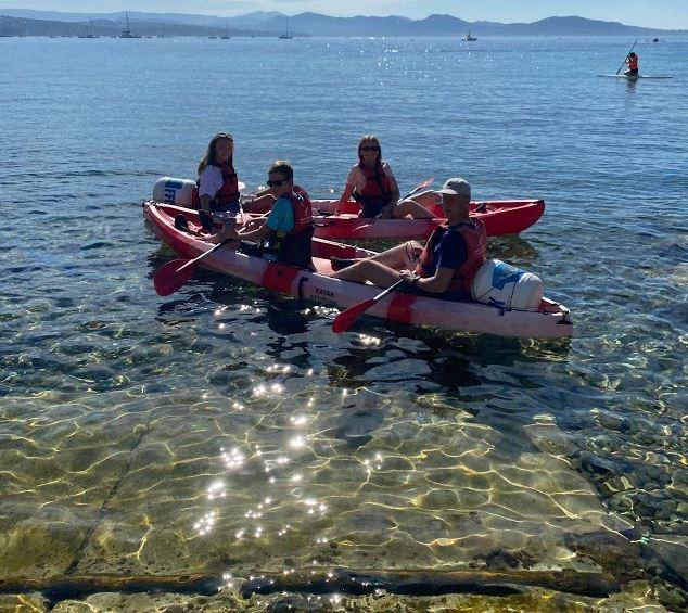 loisir activité paddle kayak canoe mer sud provence la ciotat calanques nature air soleil ile verte mugel cassis