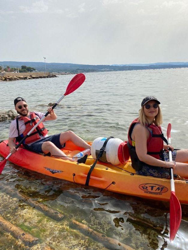 2021-07-12 location kayak paddle calanques de la Ciotat