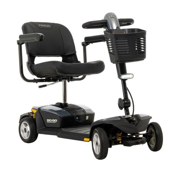 Beauty shot Grey Go Go Endurance Li Mobility Scooter
