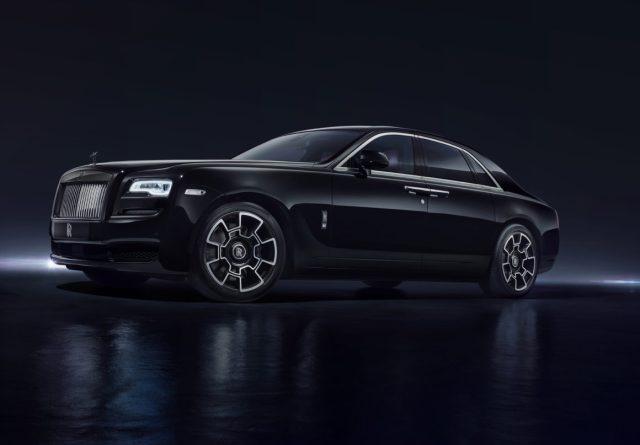 Rolls Royce Black Badeg Ghost Experience Abu Dhabi