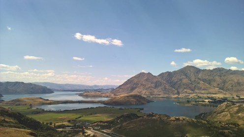 Lake Wanaka overlook