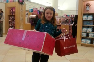 American Girl doll place shopping