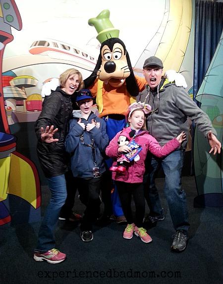 Goofy made us smile at Disney