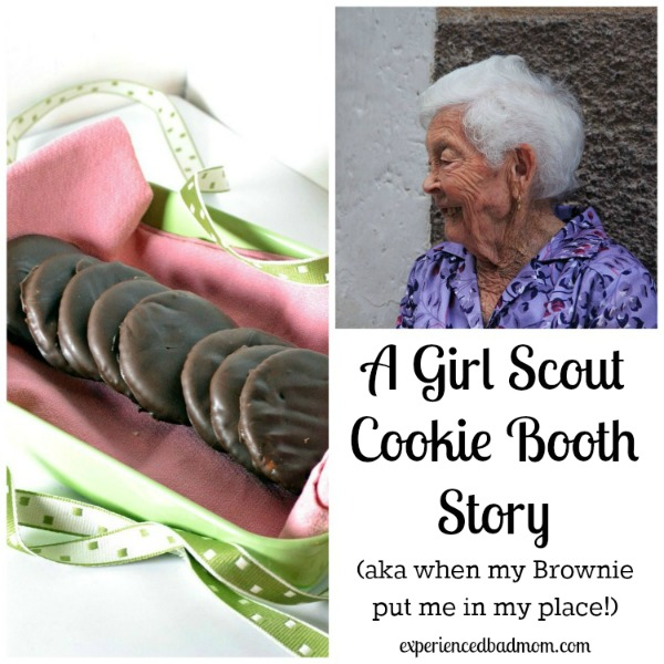 A Girl Scout Cookie Booth Story