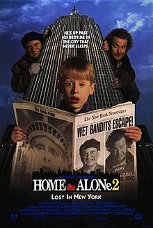 Home Alone 2, one of five fun family flicks to watch with tweens according to ExperiencedBadMom.com.