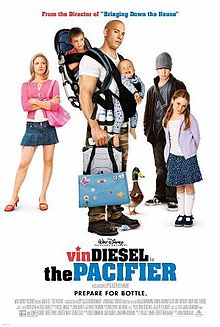 The Pacifier, one of five fun flicks to watch with tweens according to ExperiencedBadMom.com.