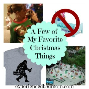 Here's a few of my favorite Christmas things!