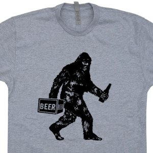 Merry Christmas dad! Here's a Bigfoot and beer shirt.