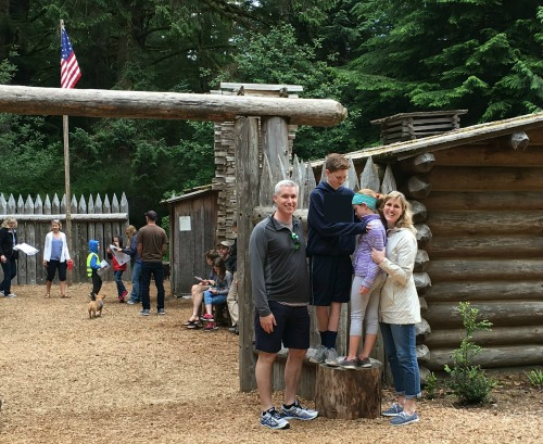 Our family vacation: Fort Clatsop
