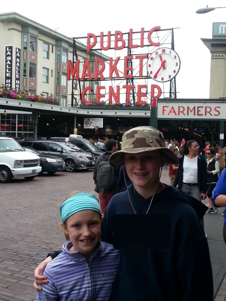 Seen and unseen on our family vacation Pike Place Market