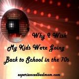 Back to School 1970s