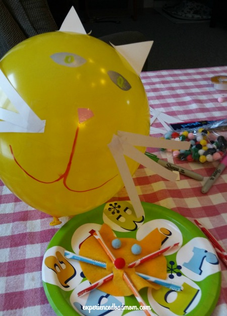 How to throw a cat-tastic birthday party: try cat crafts!