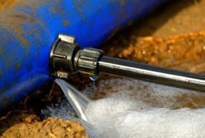 water pipe burst insurance claim