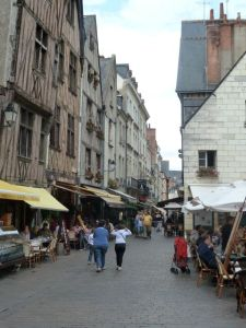 The streets of old Tours