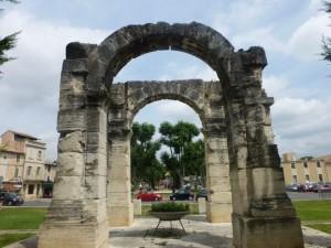 Roman arches in Cavaillon