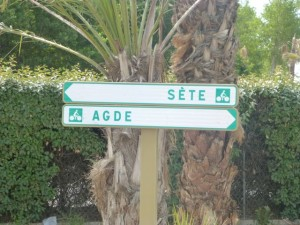 New bicycle path from Adge to Sete