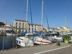 Charming seaside town of Marseillan-Plage
