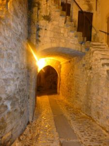 The streets of old town, Vaison la Romaine