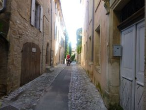 The street outside of L'Eveche