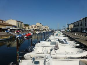 The port of Marseillan