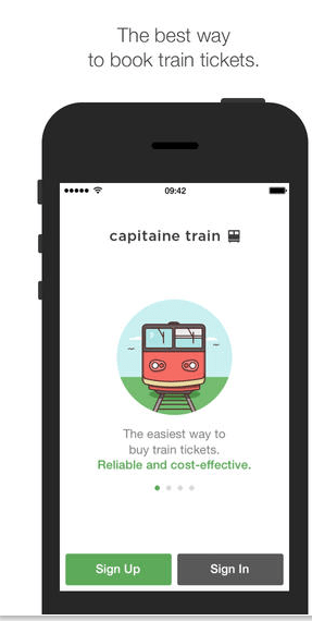 Capitaine Train iPhone app