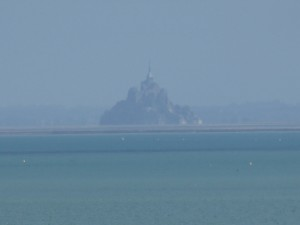 Mont Saint Michel from Cancale