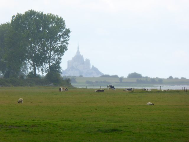 One of my favorite views of Mont Saint Michel