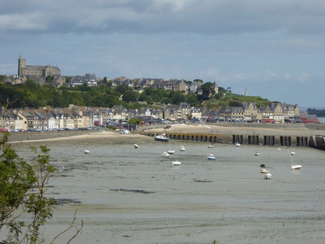 The gorgeous town of Cancale