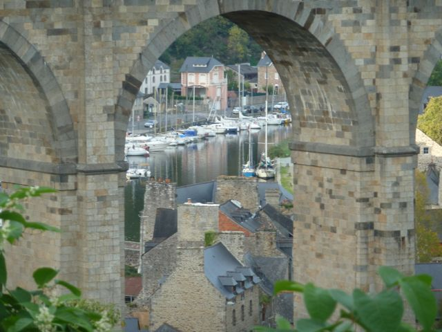 The gorgeous port of Dinan