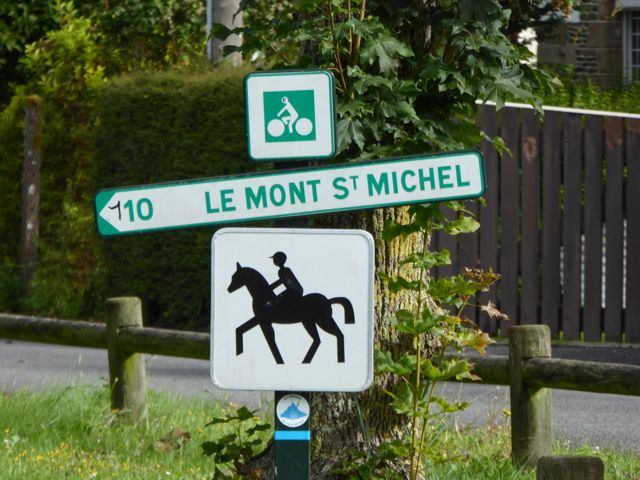 The greenway from Pontorson to Mont-St-Michel is worth the trip alone!